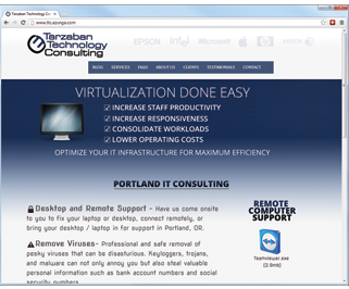 azunga-portland-web-sites-portfolio-tarzaban-technology-web